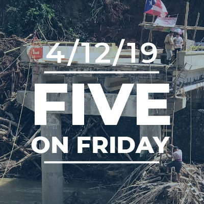Five on Friday: Puerto Rico is Left Waiting