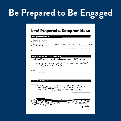 Be Prepared to Be Engaged