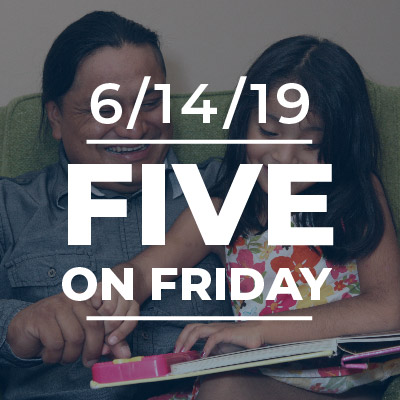 Five on Friday: Father's Day