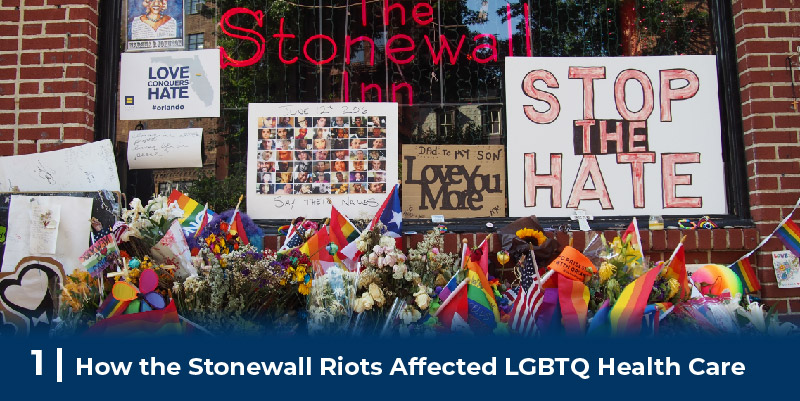 The front of the Stonewall Inn
