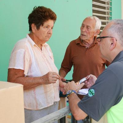 CSM went door-to-door checking on their patients after Hurricane Maria.