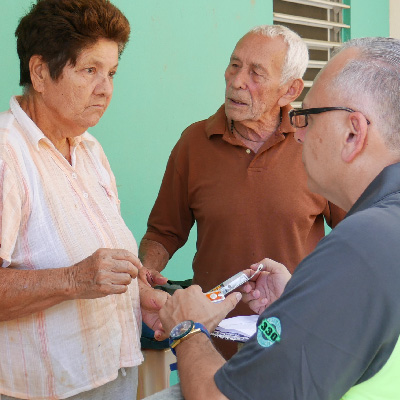 CSM went door-to-door checking on their patients after Hurricane Maria.