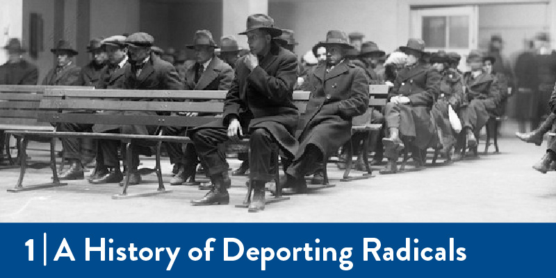 Radicals await deportation in 1919