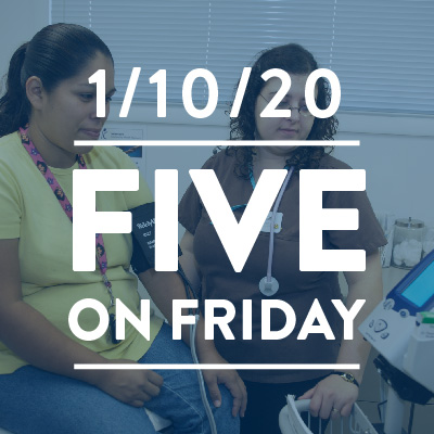 Five on Friday: January 10, 2020