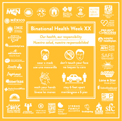 Celebrating Binational Health Week XX Virtually