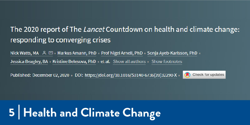 The title of the Lancet article