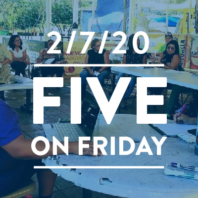 Five on Friday February 7, 2020