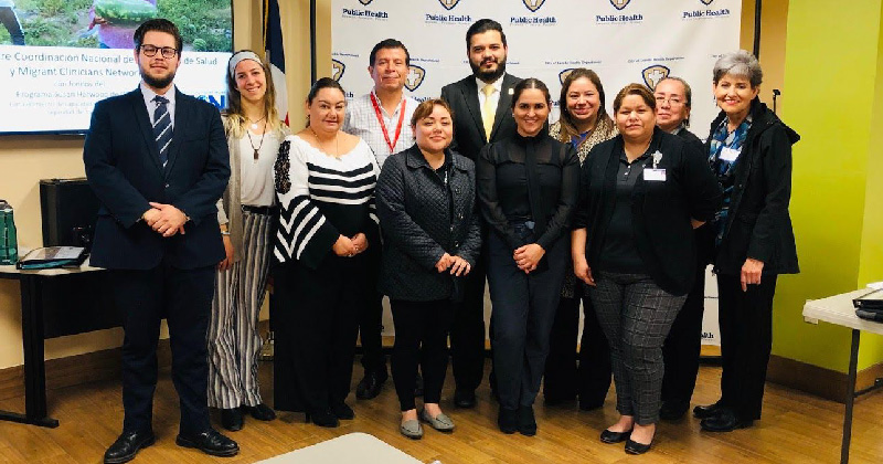 Participants of training in Laredo, TX.