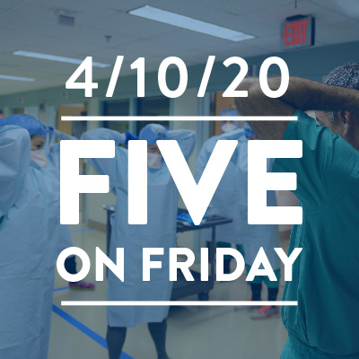 Five on Friday: Community Health Centers and COVID-19