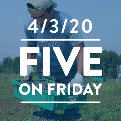 "Five on Friday: ""We must assure the health of farmworkers"""