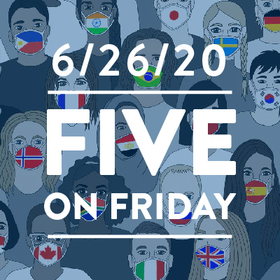 Five on Friday: Artists Create COVID-19 Health Messaging