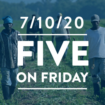 Five on Friday: The Growing Dangers of Pesticides and Heat