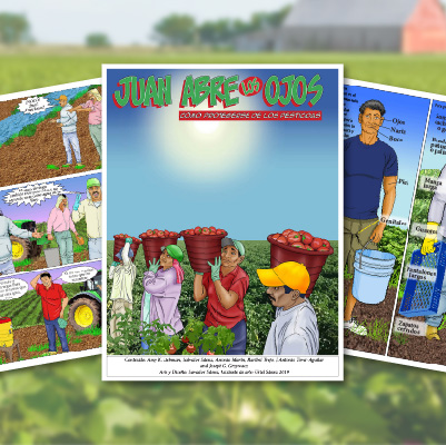 MCN Comic Book and Train-the-Trainer Curriculum Helps Farmworkers Stay Safe From