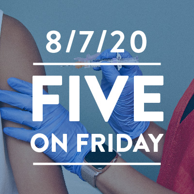 Five on Friday: National Immunization Awareness Month