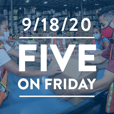 Five on Friday: Essential and Marginalized