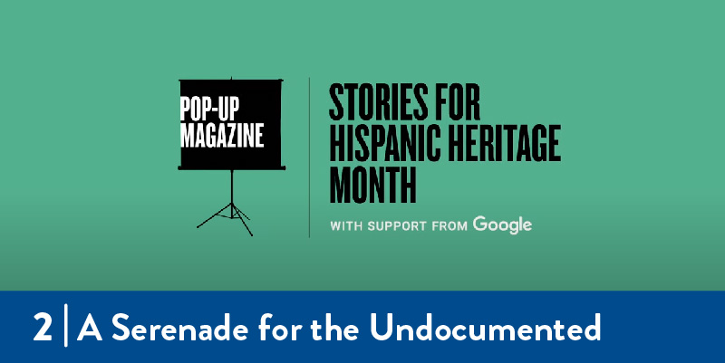 Stories for hispanic heritage month title screen