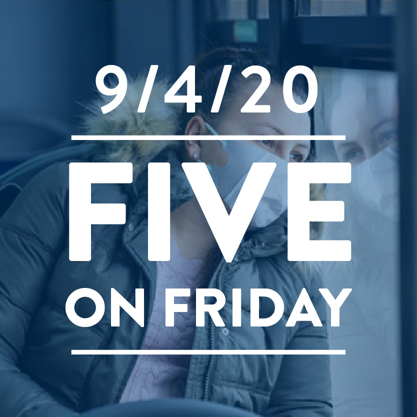 Five on Friday: COVID-19 and Social Determinants of Health