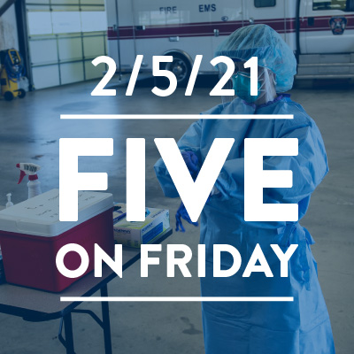 Five on Friday: Trauma and Exhaustion Among Health Care Workers