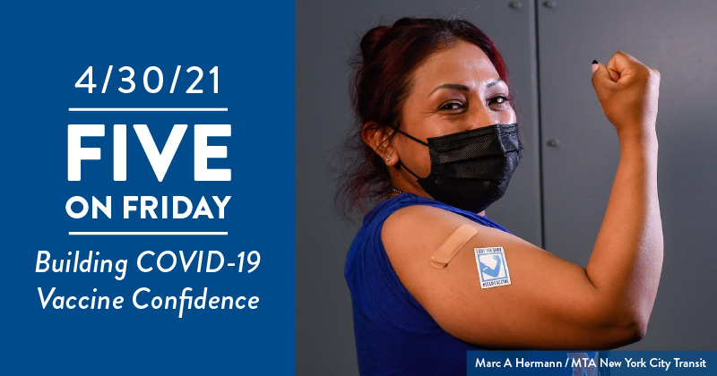 Five on Friday: Building COVID-19 Vaccine Confidence