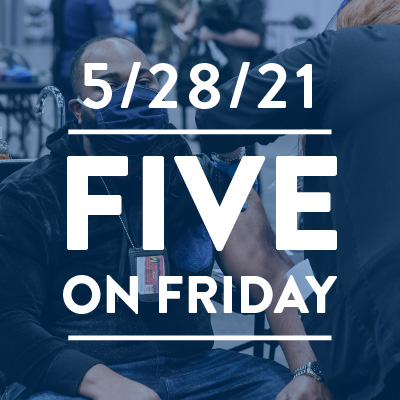 Five on Friday: Community Health Centers Essential to Vaccination Efforts