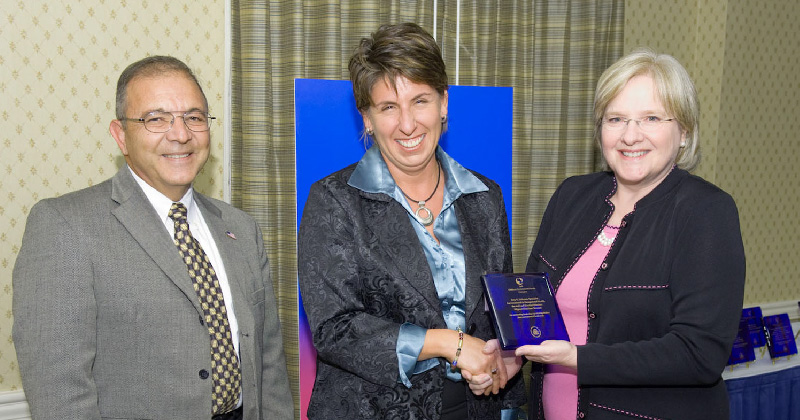 Amy receives EPA Children's Environmental Health Champion Award