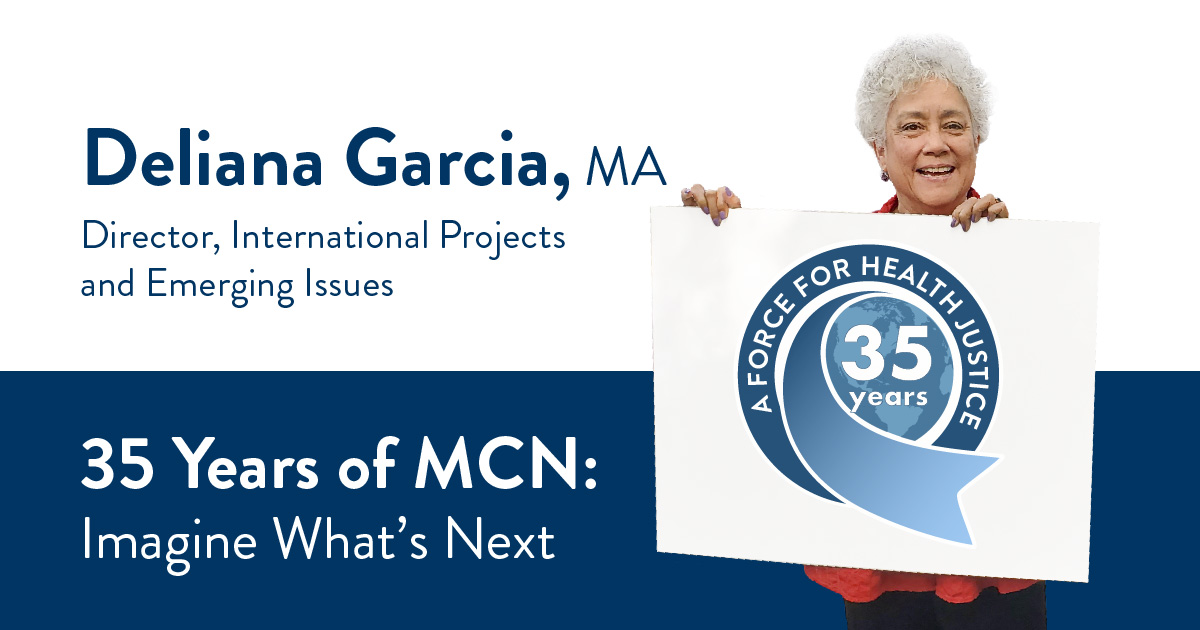 Deliana Garcia, MA, Director, International Projects and Emerging Issues