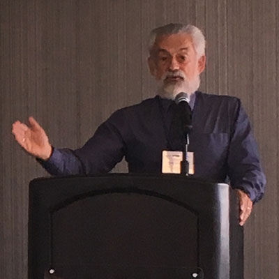 Ed Zuroweste speaking at Washington State TB Educational Conference