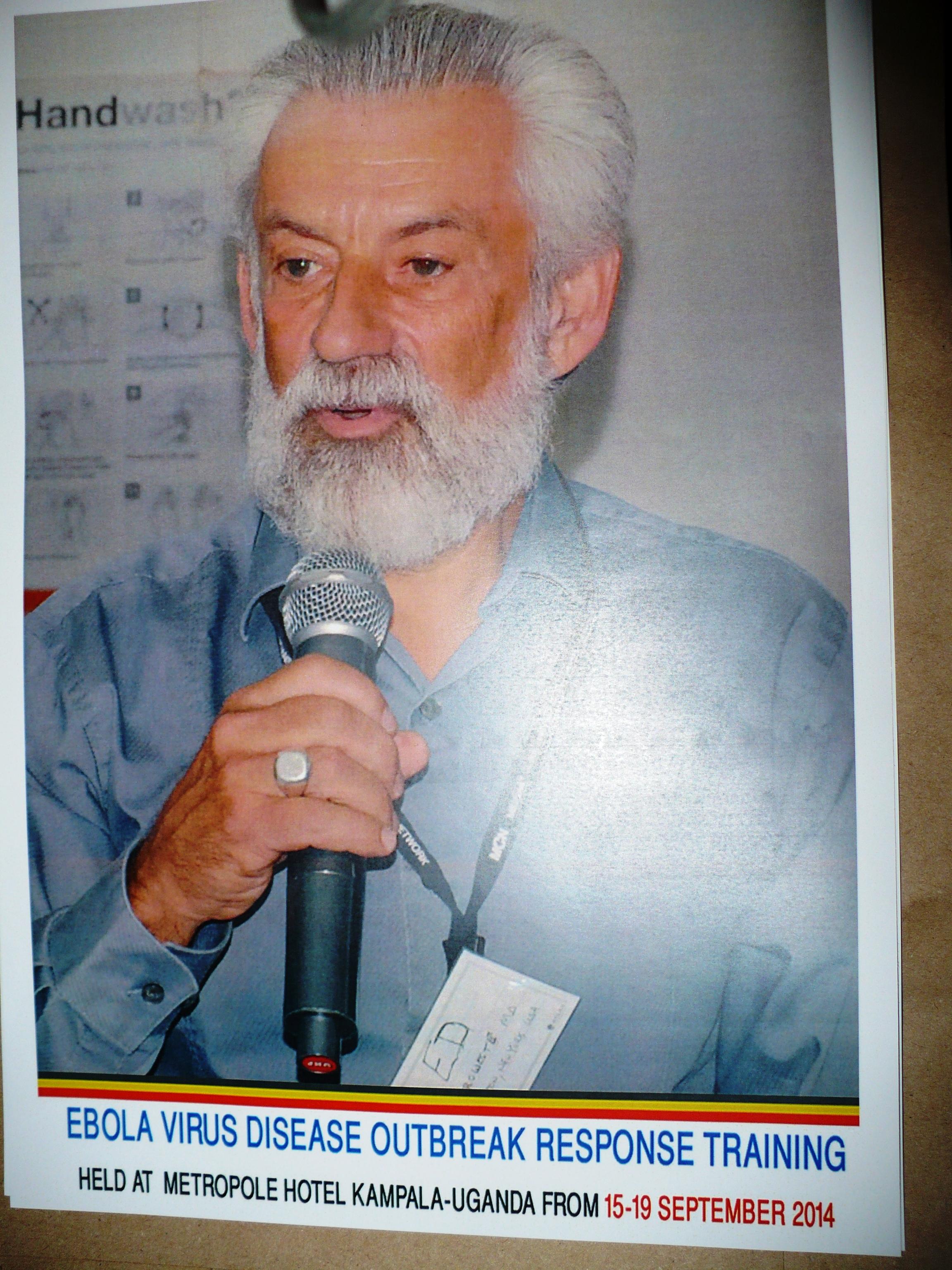 Ed Zuroweste training in Uganda