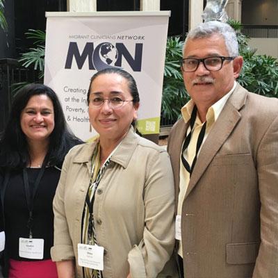 Jose Rodriguez and Alma Galván at East Coast Migrant Stream Forum