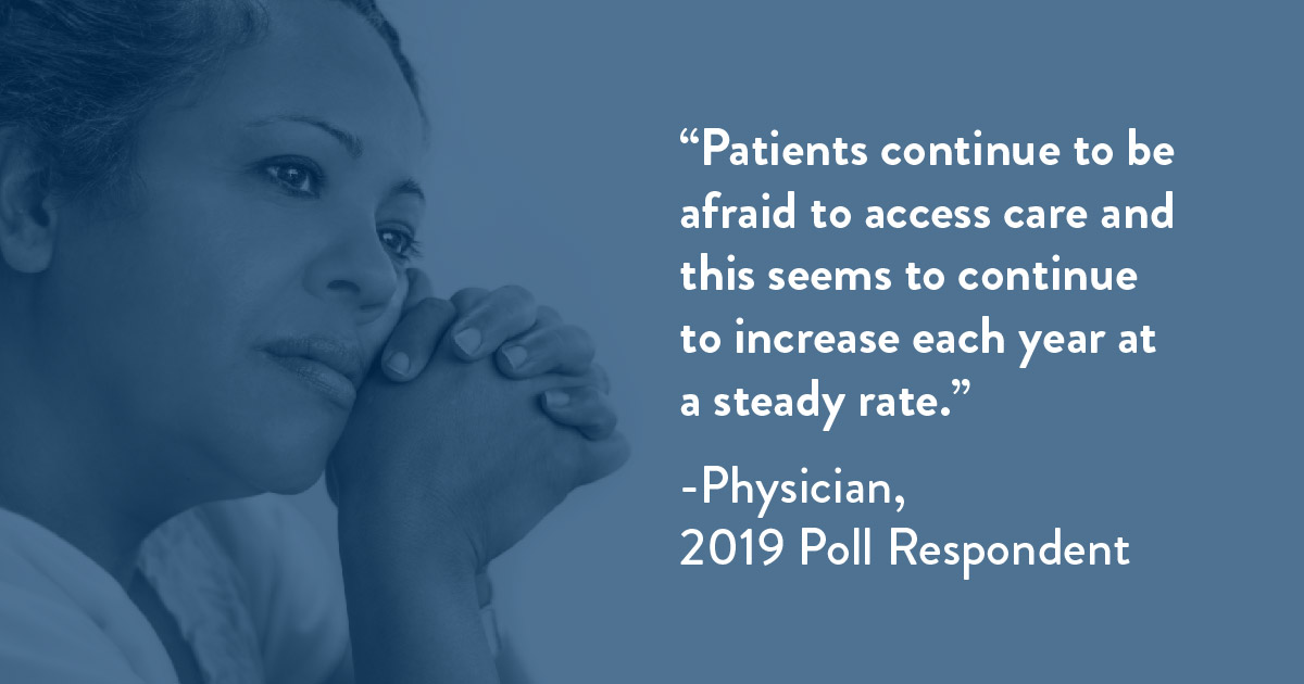 MCN 2019 Poll Quote - Patient Fear