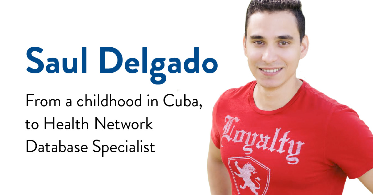 Saul Delgado, Health Network Database Specialist