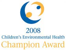 LOGO: 2008 Children's Environmental Health Champion Award