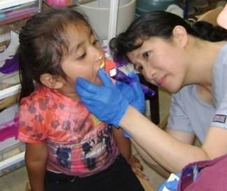 Caring for a child's mouth