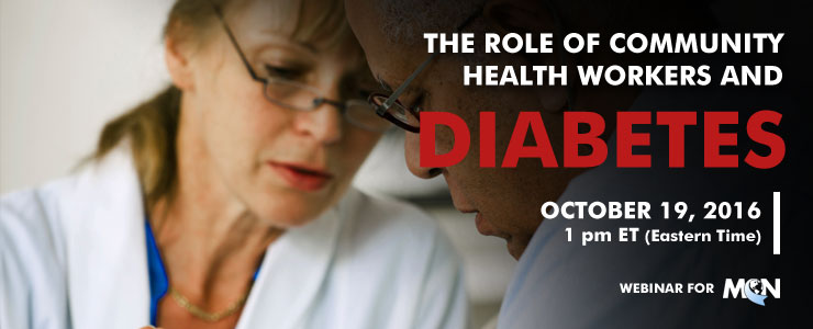 MCN webinar the role of health promotors and diabetes