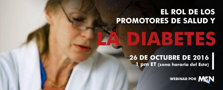 mcn webinar El rol de los promotores de salud y la Diabetes